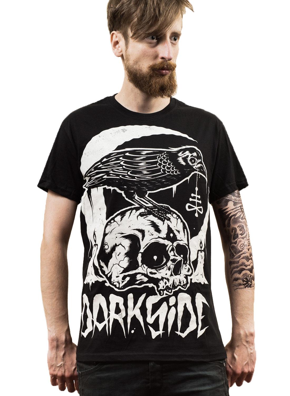 Darkside The Black Crow T-shirt Black