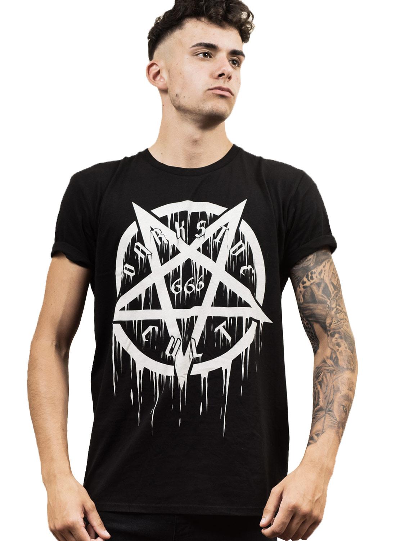 Darkside Pentagtam 666 T-shirt Black