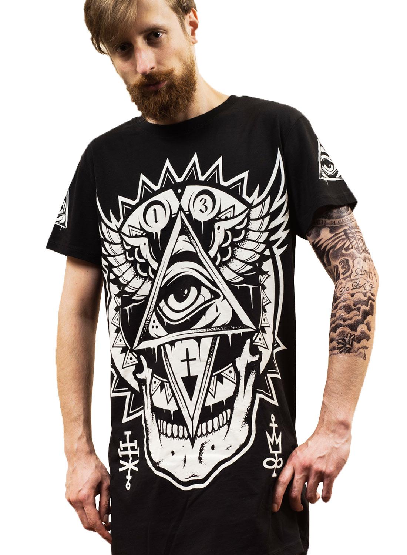 Darkside All seeing Eye T-shirt Black