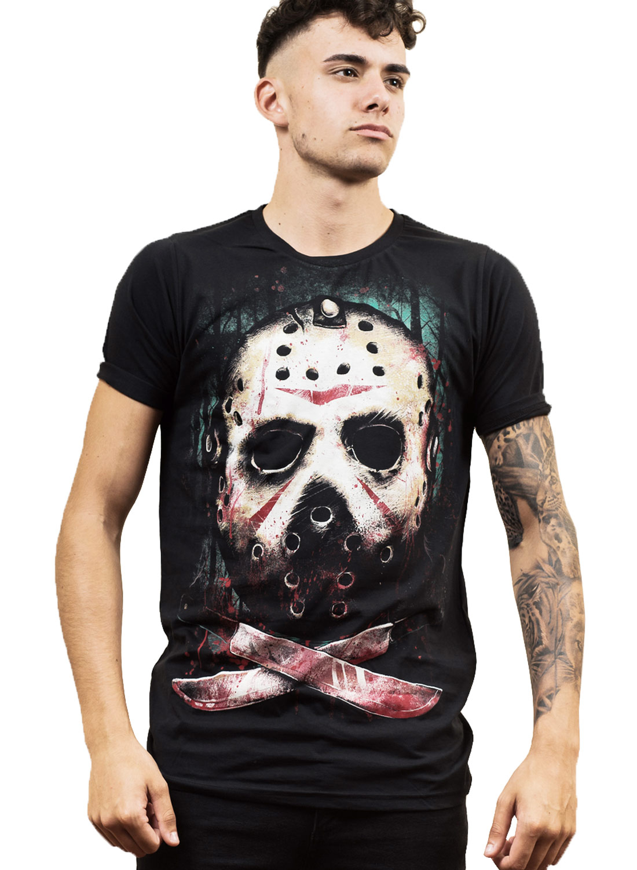 Darkside Jason T-shirt Black