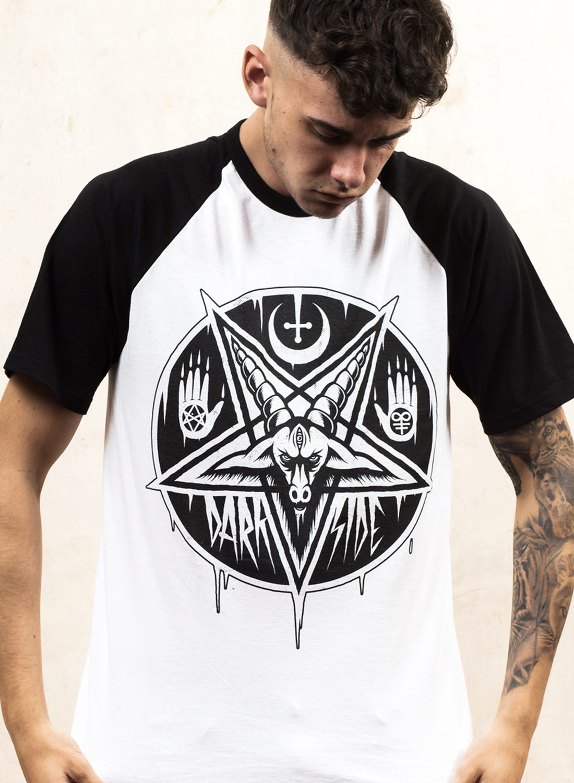 Darkside Baphomet Pentagram T-shirt