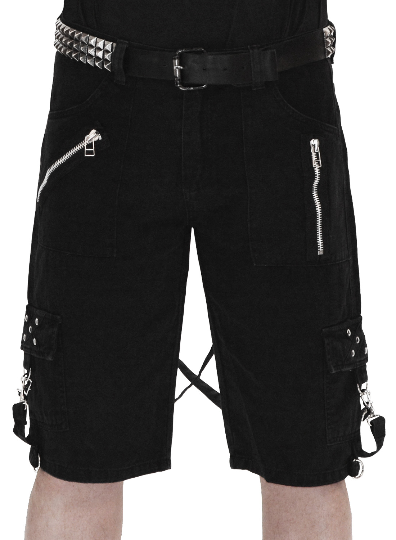 Slayer Bondage Shorts Black